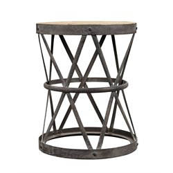 Burnham Home Designs Side Table in Natural