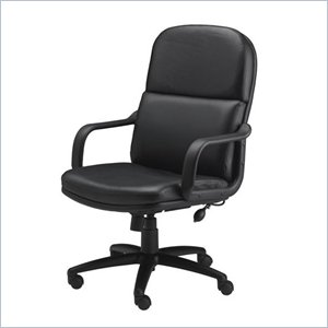 Mayline Executive Big and Tall Office Chair with Foam Cushions