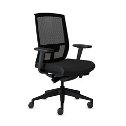 Mayline Gist Multi Purpose Mesh Back Office Chair-B