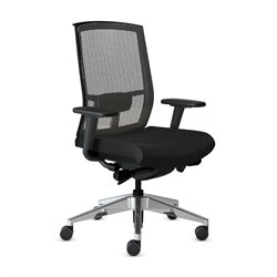 Mayline Gist Mesh Back Office Chair-D