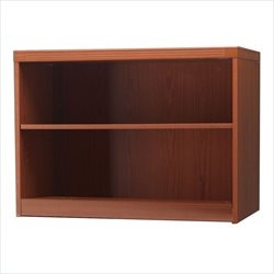 Mayline Aberdeen 2 Shelf Bookcase in Cherry