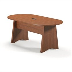 Mayline Brighton Racetrack 6' Conference Table - Cherry