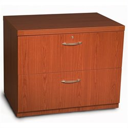 Mayline Aberdeen Freestanding Lateral File in Cherry - 30