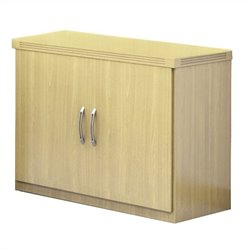 Mayline Aberdeen Storage Cabinet in Maple