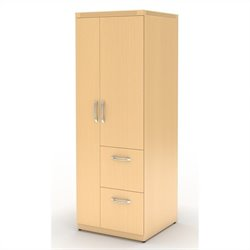 Mayline Aberdeen Personal Storage Tower in Maple