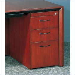Mayline Corsica 3 Drawer Lateral Wood Filing Cabinet for Desk