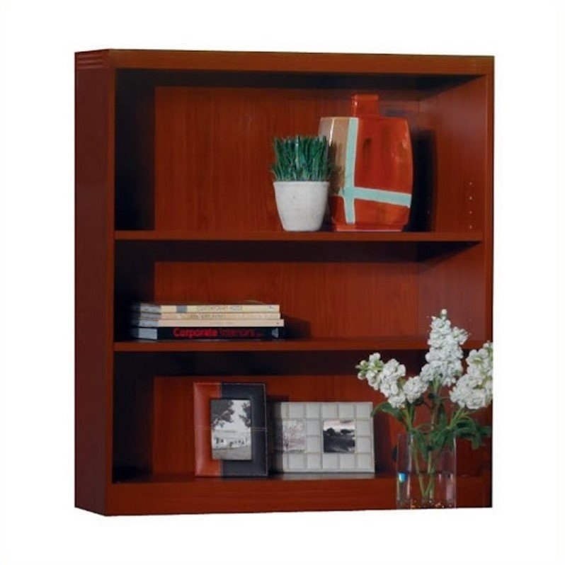 Aberdeen 3 Shelf Bookcase in Cherry