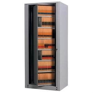Mayline ARC Rotary 7 Tier Starter File Cabinet