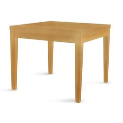 Mayline Luminary Square End Table in Maple