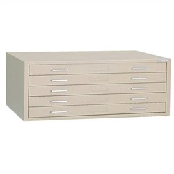 Mayline C-Files 5 Drawer Flat Files Cabinet (24
