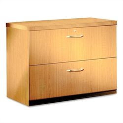 Mayline Aberdeen Freestanding Lateral File in Maple - 30