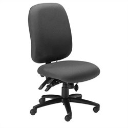 Mayline Comfort 24-Hour High Performance Office Chair in Grey