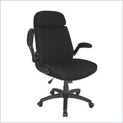 Mayline Comfort Big and Tall Metal and Plastic Pivot Arm Office Chair