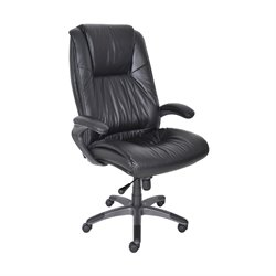 Mayline Deluxe High Back Office Chair - Burgundy