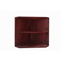 Mayline Medina Corner Support for Hutch in Mahogany