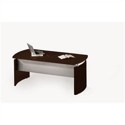 Mayline Medina Desk in Mocha - 63 inch
