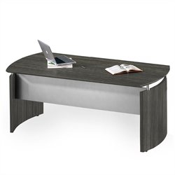 Mayline Medina Desk in Gray Steel - 63 inch
