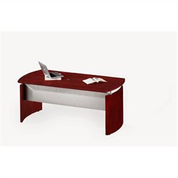 Mayline Medina Desk in Mahogany - 63 inch