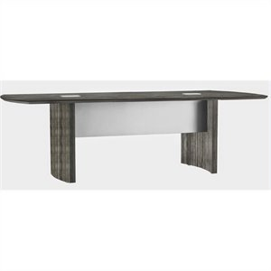 Mayline Medina Conference Table in Gray Steel