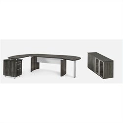 Mayline Medina Series - Suite 8 in Gray Steel