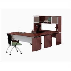 Mayline Medina Series - Office Suite 35 in Mahogany