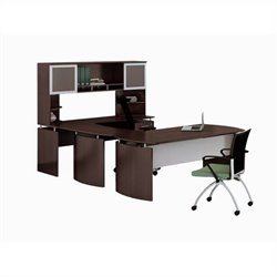 Mayline Medina Series - Office Suite 36 in Mocha