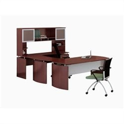 Mayline Medina Series - Office Suite 36 in Mahogany