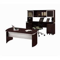 Mayline Medina Series - Office Suite 38 in Mocha