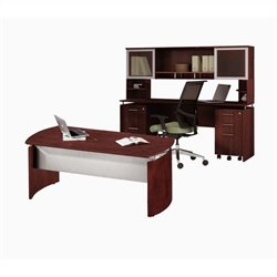 Mayline Medina Series - Office Suite 38 in Mahogany
