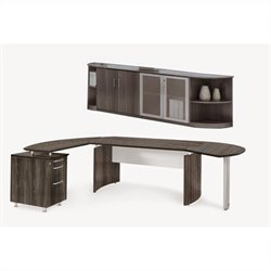 Mayline Medina Series - Suite 9 in Gray Steel