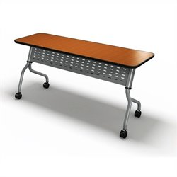 Mayline Sync Training 24 Inch Rectangular Table in Biltmore Cherry