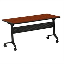 Mayline Flip-N-Go Table in Cherry