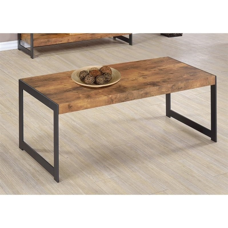 2 Piece Sideboard and Coffee Table in Reclaimed Wood Set