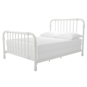 Little Seeds Monarch Hill Wren Metal Bed in White