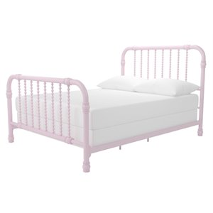 Little Seeds Monarch Hill Wren Metal Bed in Pink