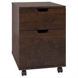 Bush Furniture Mission Creek 2 Drawer File Cabinet in Antique Cherry