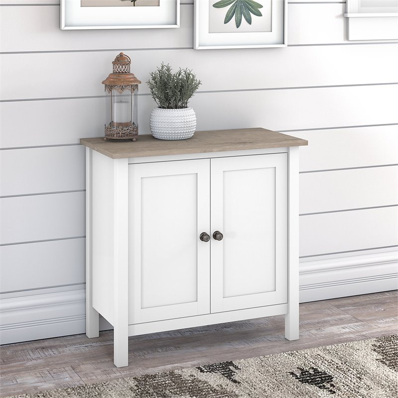 Bush Furniture Mayfield Accent Storage Cabinet with Doors