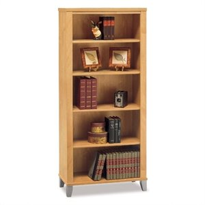 Bush Somerset 5 Shelf Bookcase