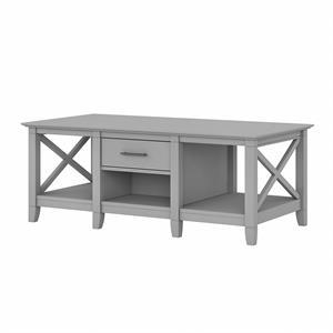 Key West Coffee Table with Storage in Cape Cod Gray - Engineered Wood