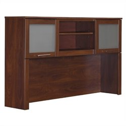 Bush Somerset  Hutch for 60 inch L-Desk in Hansen Cherry