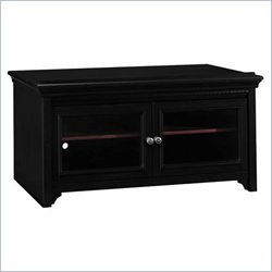 Bush Stanford Television Stand in Antique Black