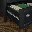 Bush Furniture Stanford 2 Drawer Lateral File Cabinet in Antique Black