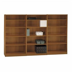 Bush Universal 5 Shelf Wall Bookcase in Royal Oak
