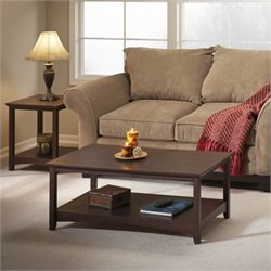 Bush Buena Vista Coffee Table in Madison Cherry Finish
