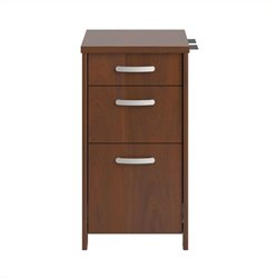 Bush Envoy 3 Drawer File Cabinet in Hansen Cherry