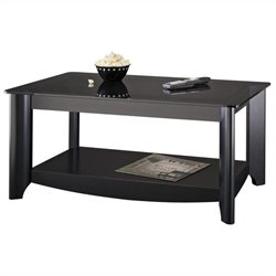 Bush Myspace Aero Coffee Table in Black Finish