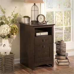 Bush Buena Vista 2 Drawer Pedestal Filing Cabinet in Madison Cherry