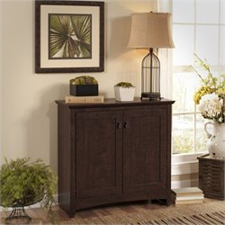 Bush Buena Vista 2 Door Low Storage Cabinet in Madison Cherry