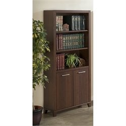 Bush Achieve 3 Shelf Bookcase in Sweet Cherry