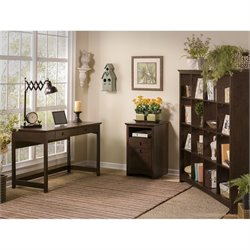 Bush Buena Vista 3 Piece Office Set in Madison Cherry